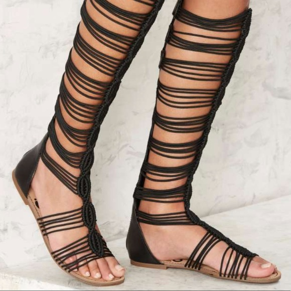 f89a03eb836ab0 Circus by Sam Edelman Shoes - BNWOT Knee-High Gladiator Sandals